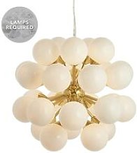 Endon Lighting Oscar - Pendant Satin Brushed Gold