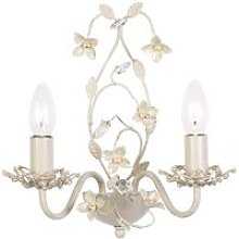 Endon Lullaby - 2 Light Indoor Candle Wall Light