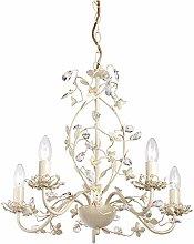Endon Lullaby 5 arm chandelier pendant light