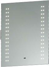 Endon Perle - Bathroom Wall Light Silver IP44 with