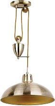 Endon Polka - Dome Ceiling Pendant Light Antique