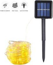 Energy Saving Solar Tube String Light 7M 50 Lamp