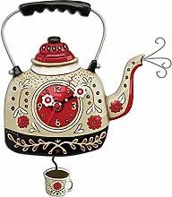 Enesco P1706 Clock, Bullitore for tea, 35 cm,