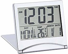 eng hong hui LCD Display Calendar Alarm Clock Desk