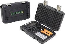 ENGINEER Precision Crimping Tool kit, Orange,