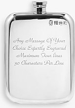 English Pewter Company Personalised Vintage Hip
