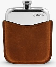 English Pewter Company Pewter Hip Flask with