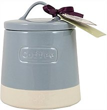 English Tableware Co. Artisan Coffee Canister, Blue