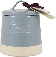 English Tableware Co. Artisan Tea Canister, Blue