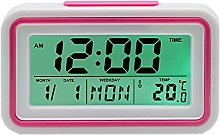 English Talking Alarm Clock with Date, Day and