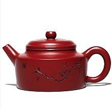 Engraved German Clock Purple Sand teapot with rain