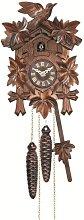 Engstler Quartz Cuckoo Clock 5-leaves, bird EN 522
