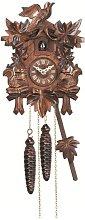 Engstler Quartz Cuckoo Clock 5-leaves, bird EN 622