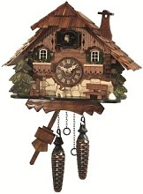 Engstler Quartz Cuckoo Clock Black forest house EN