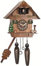 Engstler Quartz Cuckoo Clock Black forest house EN
