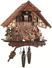 Engstler Quartz Cuckoo Clock Black forest house,