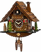 Engstler Quartz Cuckoo Clock Black forest house