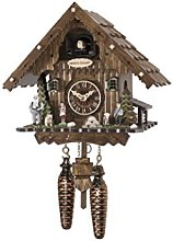 Engstler Quartz Cuckoo Clock Heidi house with music