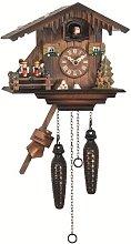 Engstler Quartz Cuckoo Clock Swiss house with