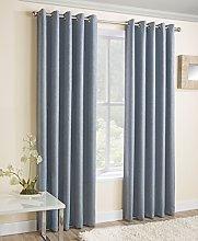 Enhanced Living Vogue Duckegg - Eyelet Curtain,