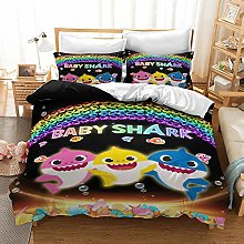 Enhome Kids Duvet Cover Bedding Set for Single