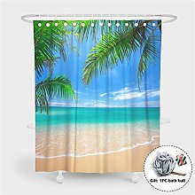 Enhome Shower Curtain, Water Resistant Bath