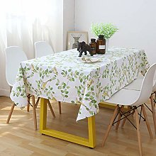 Enhome Table Cloths Cotton Washable