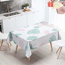Enhome Tablecloths Rectangular Table Cloth, 3D