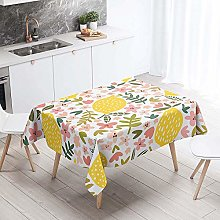 Enhome Tablecloths Rectangular Wipe Clean, 3D