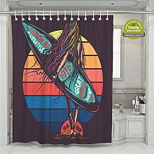 Enhome Waterproof Shower Curtains, Polyester