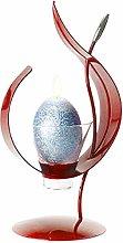 Enigma Supplies Dark Maroon Red Metal & Glass