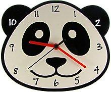 Enjoy Your Time Panda Childrens Wall Clock (e9555)