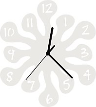 Enjoy Your Time-Splash Childrens Wall Clock 25cm