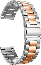 ENJY Watch Strap Solid Metal Wristband For Watch
