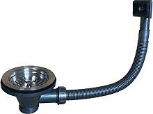 ENKI SA009 Strainer Basket Waste Overflow Pipe