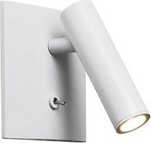 Enna Square LED Wall light - / Adjustable small