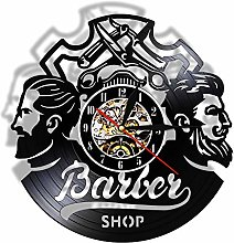 Enofvd Barber shop logo hair salon decoration mute