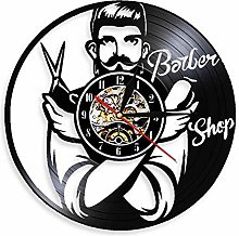 Enofvd Beautician retro vinyl record wall clock
