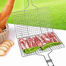 ENticerowts BBQ Net Iron Wire Mesh Barbecue