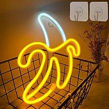 ENUOLI Banana Neon Signs LED Neon Lights Art