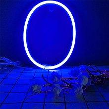 ENUOLI LED Neon Letter Sign Blue Night Lights