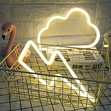 ENUOLI LED Neon Light Sign Cloud Neon Sign and
