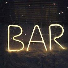 ENUOLI LED Warm White Neon Light Neon Letters