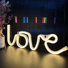 ENUOLI Love Neon Signs Neon Love Lights Neon Light