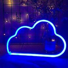 ENUOLI Neon Light Cloud Neon Signs Cloud Neon