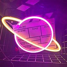ENUOLI Neon Planet Light Planet Neon Light Signs