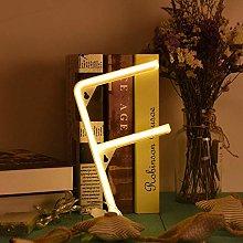 ENUOLI Warm White Letters Neon Lights Night Lamp