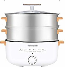 EODNSOFN 12L Electric Steamer Multifunctional