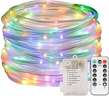 EONHUAYU LED Dimmable Rope Lights, 5M 50 LED Rope