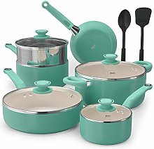 Eono by Amazon Pots and Pans Sets 12 Pieces